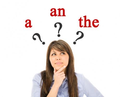 การใช้ A, An และ The